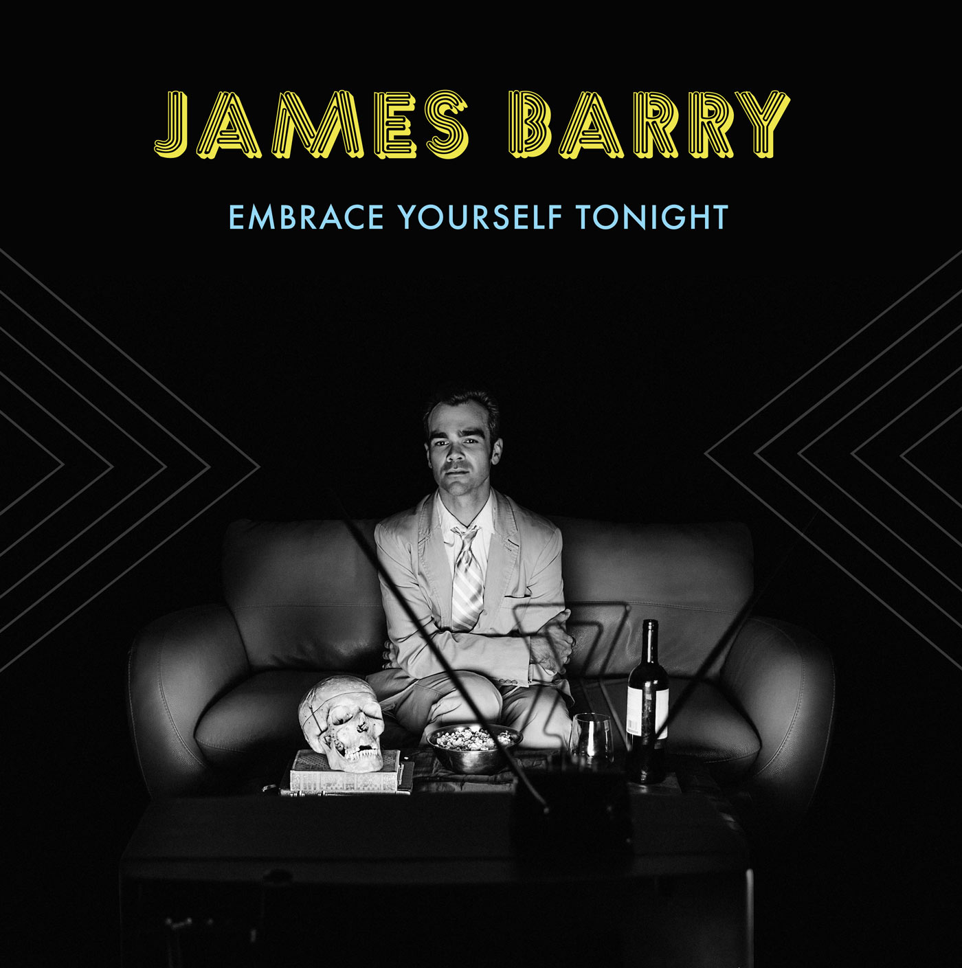 James Barry – Embrace Yourself Tonight – Record Sleeve Design image
