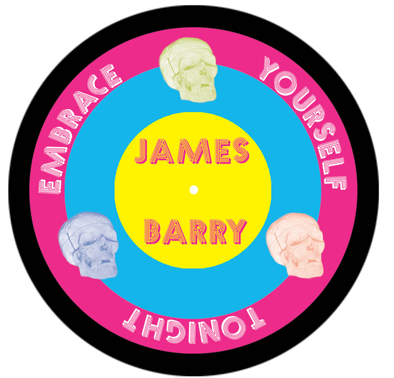 James Barry - lp sticker