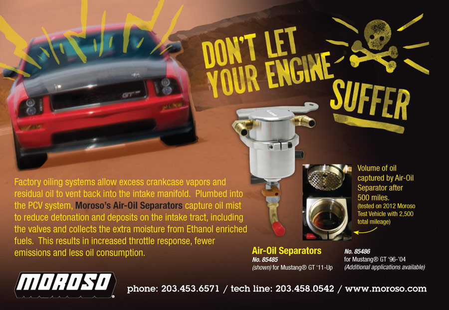 Moroso Performance Products – Print Advertisements image