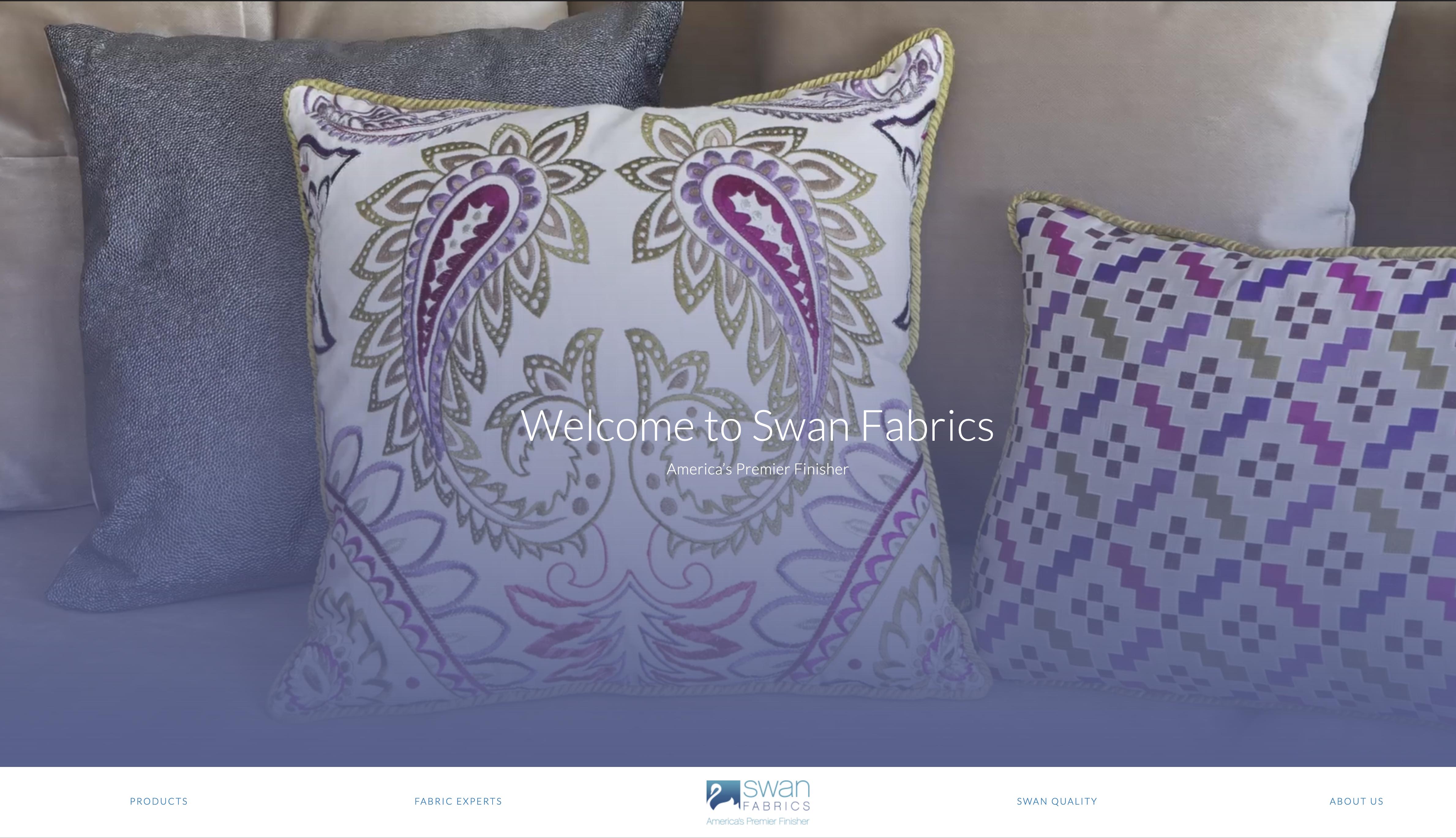 Swan Fabrics Homepage