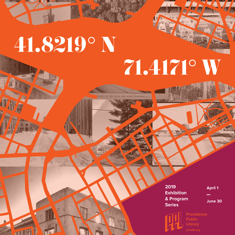 41.8219° N, 71.4171° W | Providence Public Library Exhibition Graphics image